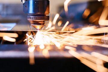 Laserschneiden von Metall