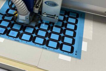 Foil laser cutting