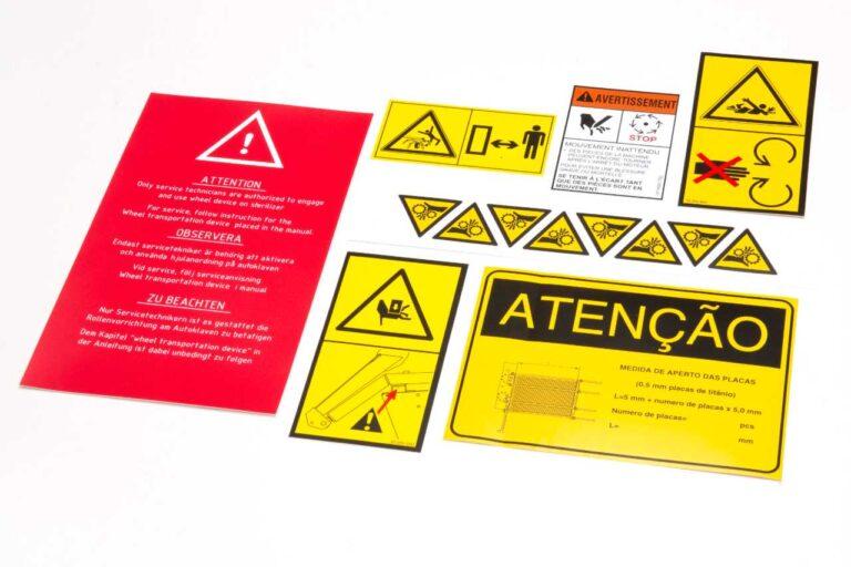 Sikkerheds Labels 1